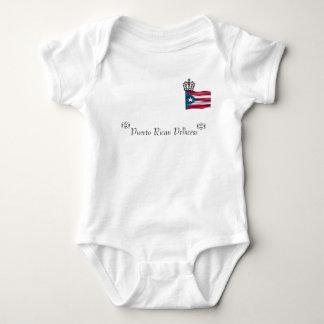 Puerto Rican Princess Baby Bodysuit