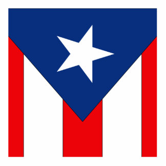 Puerto Rico (2) Acrylic Cut Out