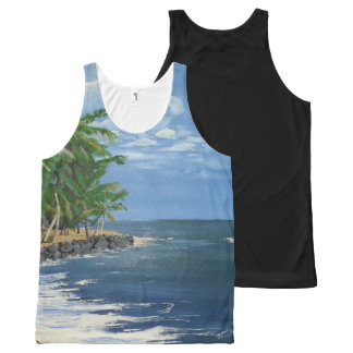 Puerto Rico All-Over Print Tank Top