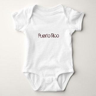 Puerto Rico Baby Tshirt