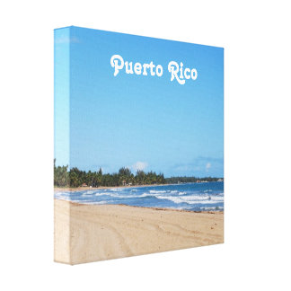 Puerto Rico Beach Canvas Prints