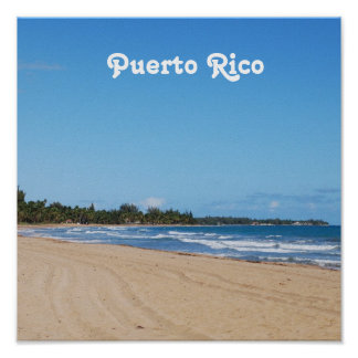 Puerto Rico Beach Posters