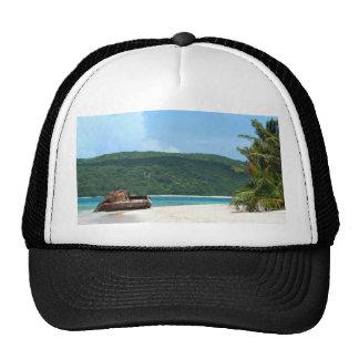 Puerto Rico Beach Tank Hats