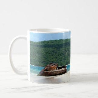 Puerto Rico Beach Tank Coffee Mug