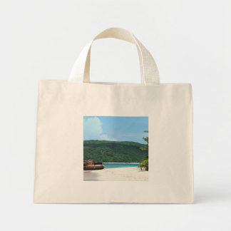 Puerto Rico Beach Tank Canvas Bags