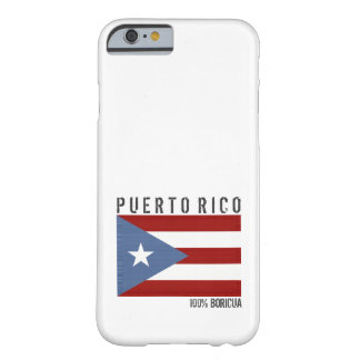 Puerto Rico Boricua Barely There iPhone 6 Case