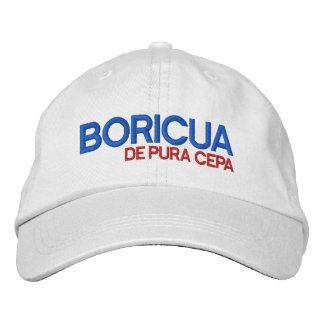 Puerto Rico: Boricua de Pura Cepa Baseball Cap