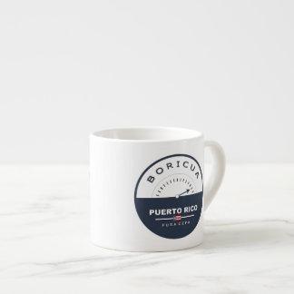 Puerto Rico Boricua de Pura Cepa Espresso Cup