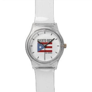 Puerto Rico Boricua Personalized Watch