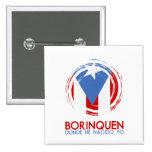 Puerto Rico Borinquen 15 Cm Square Badge