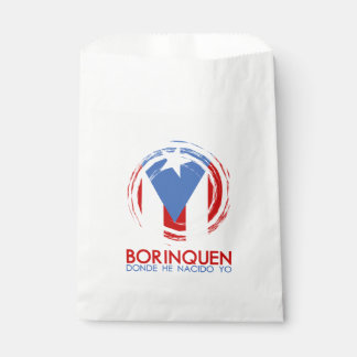 Puerto Rico Borinquen Favour Bags