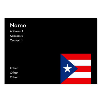 Puerto Rico Business Card Template
