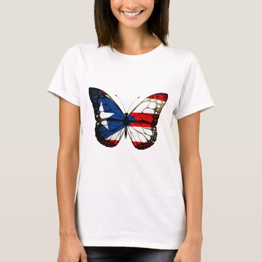 Puerto Rico Butterfly T-Shirt