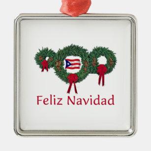 puerto rico christmas 2 christmas ornament