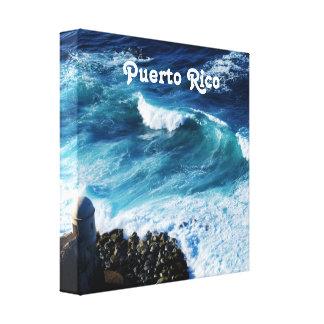 Puerto Rico Coast Stretched Canvas Print