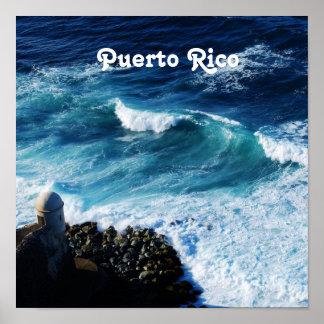 Puerto Rico Coast Print