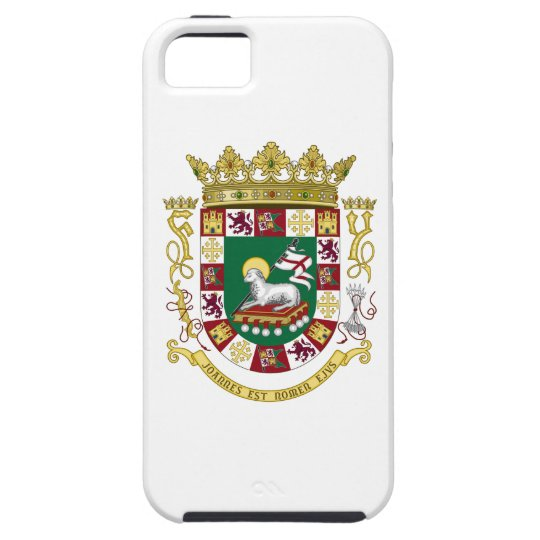 Puerto Rico Coat of Arms Tough iPhone 5 Case
