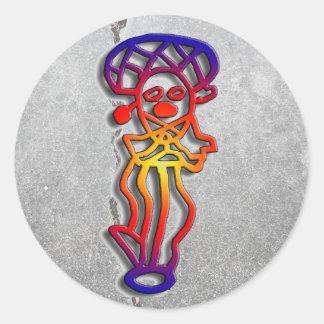 Puerto Rico - dancer sticker