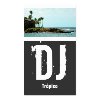 Puerto Rico DJ Pack Of Standard Business Cards