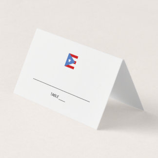 Puerto Rico Event Place Card