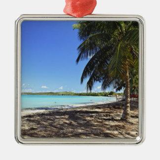 Puerto Rico, Fajardo, Culebra Island, Seven Seas Christmas Ornament