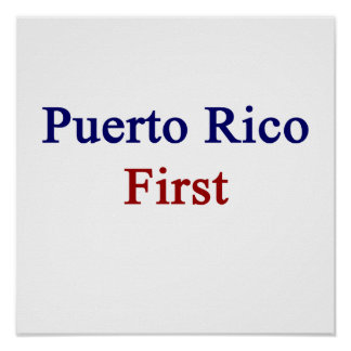 Puerto Rico First Print
