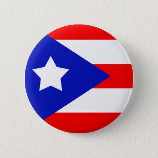 Puerto Rico Flag 6 Cm Round Badge
