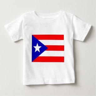 Puerto Rico Flag Baby T Shirt