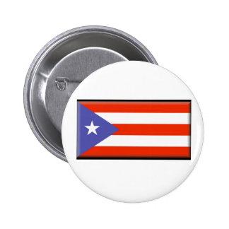Puerto Rico Flag Button