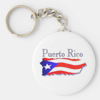 Puerto Rico Flag Boricua Key Ring
