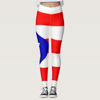 Puerto Rico Flag Leggings