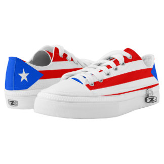 Puerto Rico Flag Low Tops