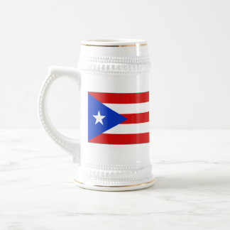 Puerto Rico Flag ~ Map Mug