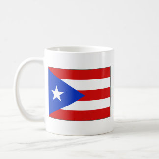 Puerto Rico Flag ~ Map Mug