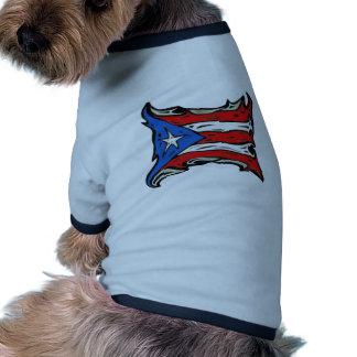 Puerto Rico Flag of Reggaeton Doggie T Shirt