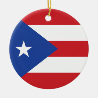 Puerto Rico Flag Ornament