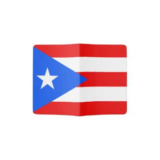 Puerto Rico flag passport holder