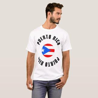 Puerto Rico Flag Simple T-Shirt