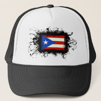 Puerto Rico Flag Trucker Hat