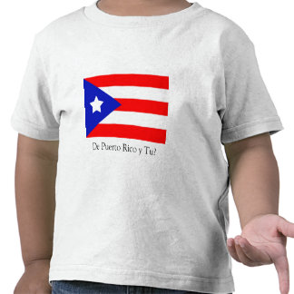 Puerto Rico Flag T-shirts