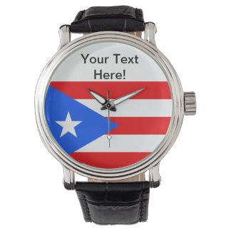 Puerto Rico Flag Watch