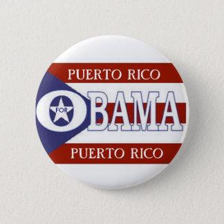 PUERTO RICO FOR OBAMA Button