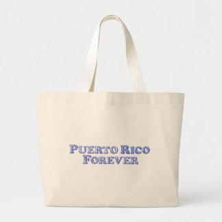 Puerto Rico Forever - Bevel Basic Large Tote Bag