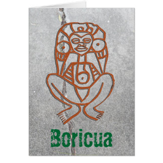 Puerto Rico - goddess Greeting Card