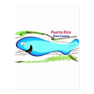 Puerto rico Gran Canaria Souvenirs Postcard
