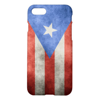 Puerto Rico Grunge Flag iPhone 7 Case