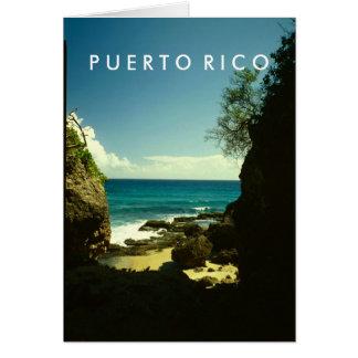 Puerto Rico, Guajataca, Isabela Greeting Card
