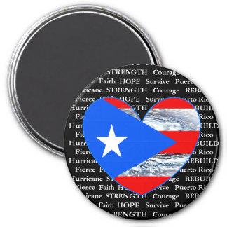 Puerto Rico Hurricane Strength Magnet