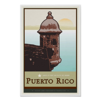 Puerto Rico I Poster