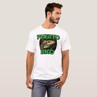 Puerto Rico Iguana Tee